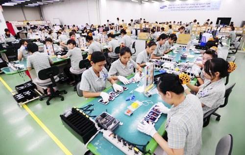 美国成为越南最大的手机及零件出口市场 hinh anh 1