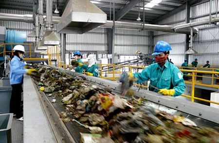 法国企业拟在同奈省投资兴建总额为2亿欧元的垃圾发电厂 hinh anh 1