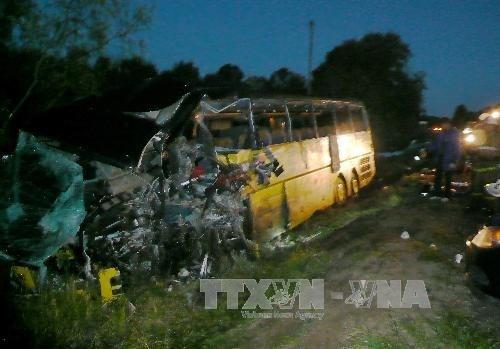 俄罗斯一交通事故造成5名越南人死亡 hinh anh 1
