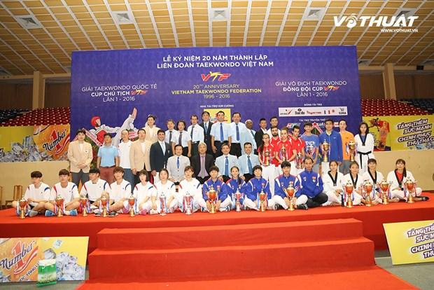 越南队在2016年第一届VTF国际锦标赛夺冠 hinh anh 1