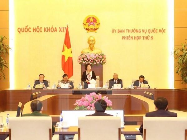 第十四届国会常委会第五次会议聚焦第十四届国会第三次会议准备工作 hinh anh 1