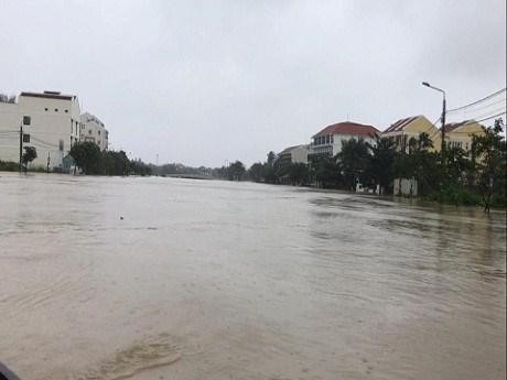 洪灾对越南会安世界文化遗产造成威胁 hinh anh 1