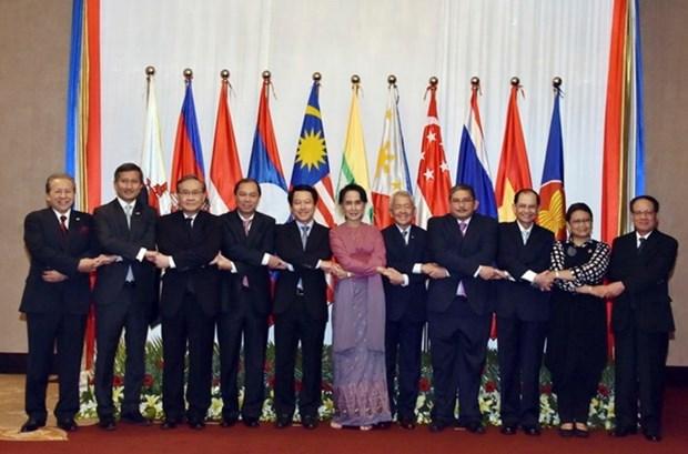 东盟外长非正式会议聚焦缅甸若开邦局势 hinh anh 1