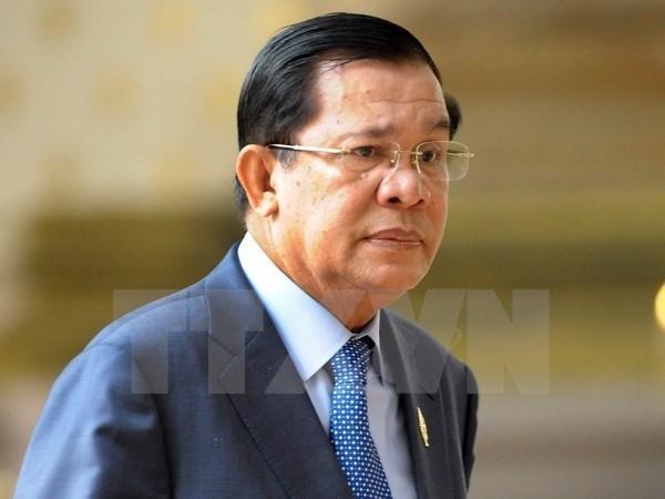 柬埔寨首相洪森访问胡志明市 hinh anh 1