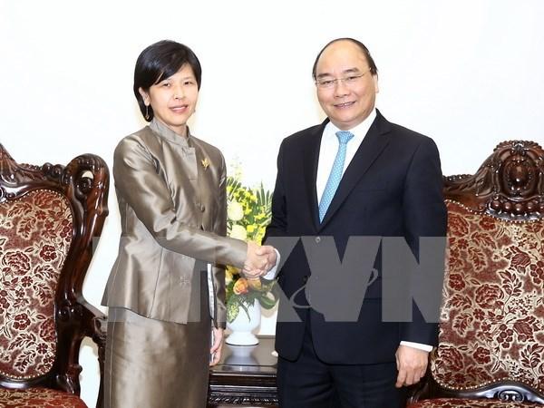阮春福总理:加拿大是越南值得信赖的ODA援助国 hinh anh 1