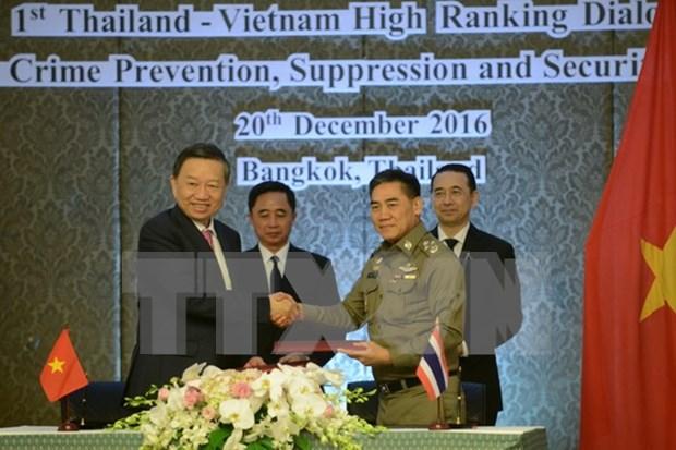 越泰安全对话在泰国举行 hinh anh 1