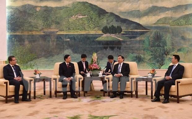 越中两国立法机构深化合作 hinh anh 1
