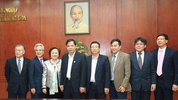 越南与日本促进农业合作 hinh anh 1