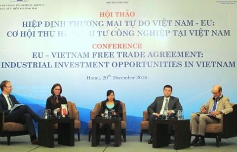 越南欧盟自由贸易协定: 越南吸引工业投资商机 hinh anh 1