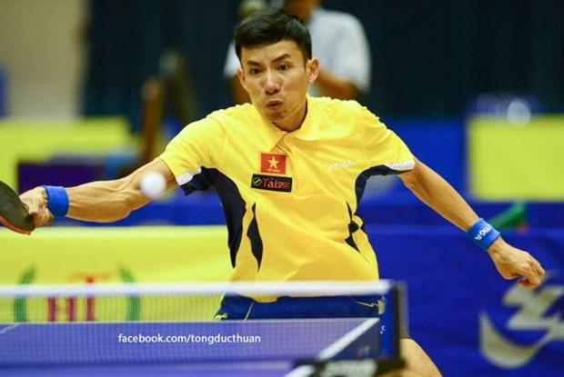 越南乒乓球队获得东南亚男子团体冠军 hinh anh 1