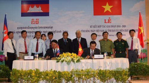 越南同塔省与柬埔寨班迭棉吉省加强合作 hinh anh 1