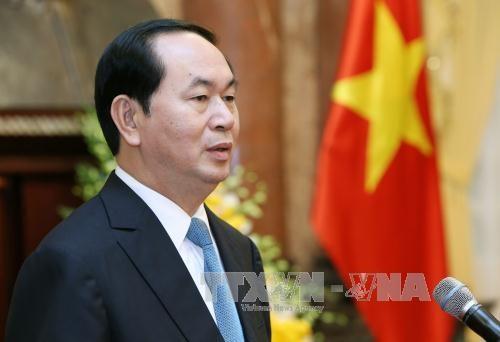 越南国家主席陈大光任命越南驻外大使 hinh anh 2