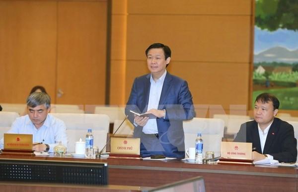 越南政府副总理王廷惠:注重确保宏观经济稳定 hinh anh 1