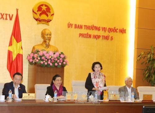 越南第十四届国会常务委员会第五次会议发表公报 hinh anh 1
