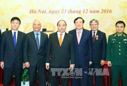 阮春福总理:努力做好法律审核工作 打立法工作中利益集团 hinh anh 1