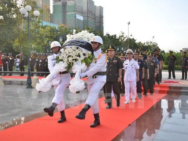 越南人民军建军72周年纪念活动在柬埔寨举行 hinh anh 1