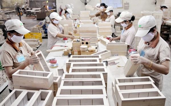 平阳省出口金额增长逾16% hinh anh 1