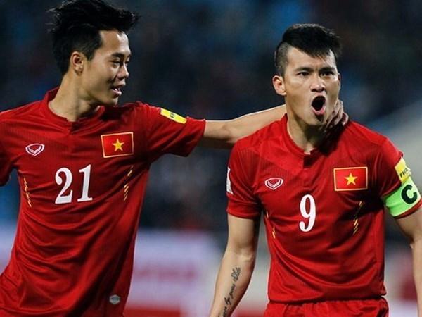 FIFA年终排名:越南队下降5位 居世界第134位 hinh anh 1