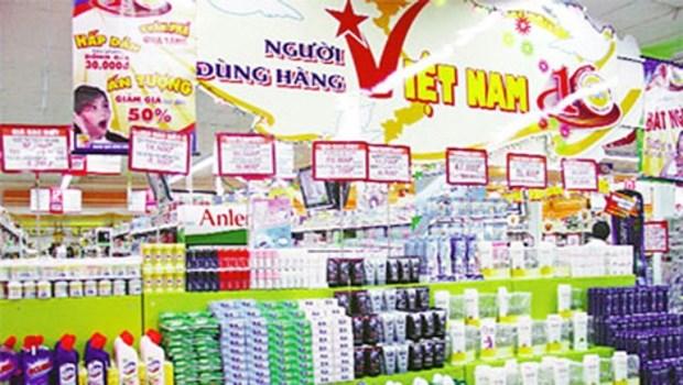 """""""越南人优先用越南货""""运动在芹苴市初步取得显著成效 hinh anh 1"""