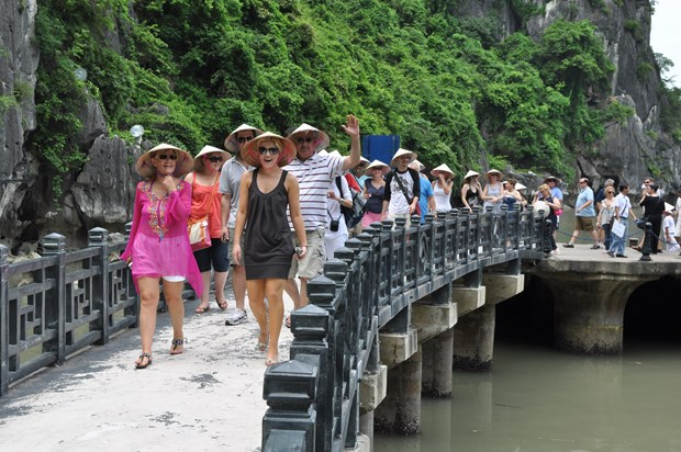 越南在坚江省接待2016年第1000万名国际游客 hinh anh 1