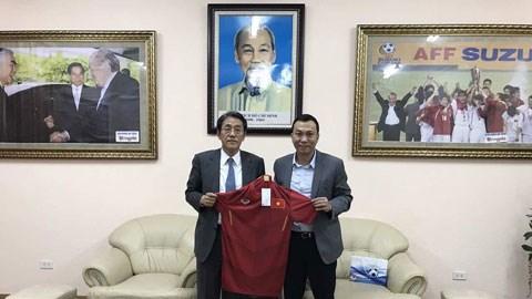 推动越南—日本足球合作全面发展 hinh anh 1
