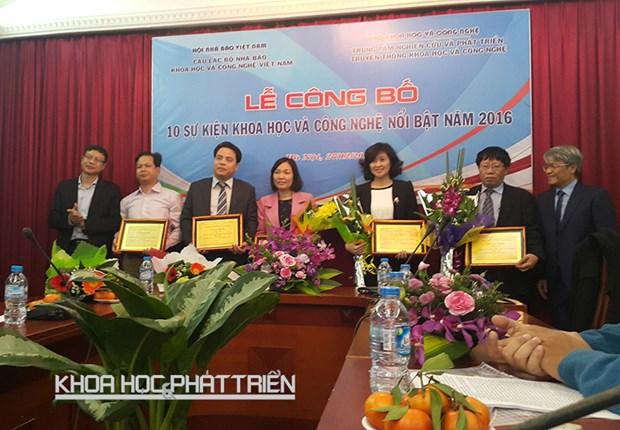 越南2016年度十大科技事件评选结果揭晓 hinh anh 1