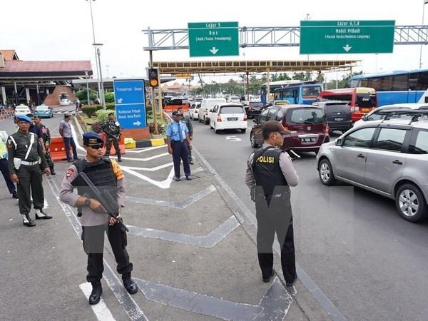 印度尼西亚新年前夕加强安全防范工作 hinh anh 1