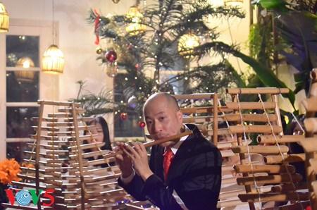 越南目前唯一演奏交响乐的竹乐团《新活力》 hinh anh 1