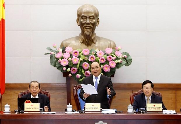 越南政府总理阮春福:需渴望推动国家向前发展 hinh anh 1