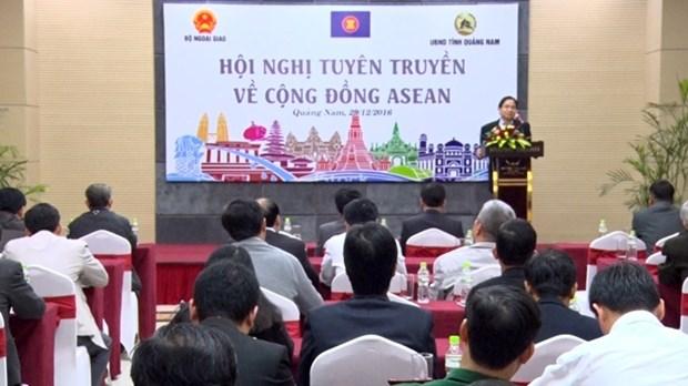 越南着力加强外办工作人员队伍对东盟共同体的了解 hinh anh 1