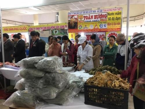 越南年终农产品展销会在河内开展 hinh anh 1