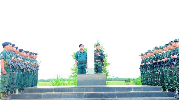 第一届越柬边境各省友好交流活动在西宁省举行 hinh anh 1