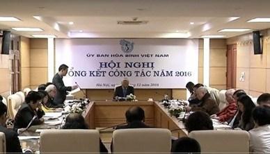 越南和平委员会部署2017年工作任务 hinh anh 1
