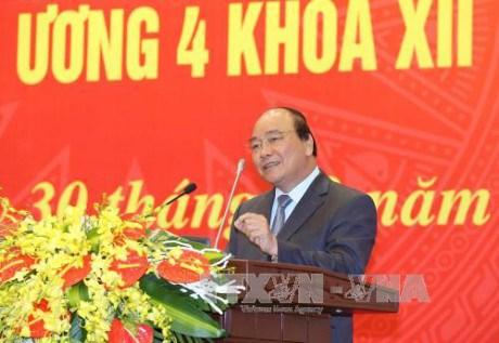 阮春福总理:政府办公厅干部党员应努力学习 不断提高工作能力和业务水平 hinh anh 1