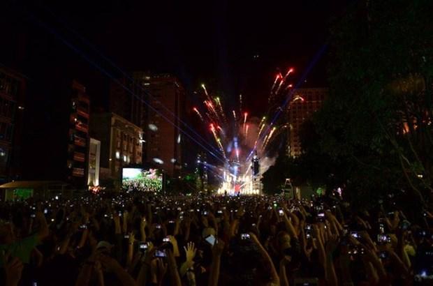 越南全国人民喜迎2017新年 hinh anh 1