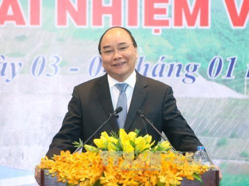 阮春福总理:EVN需继续保持在全国供电的主导作用 hinh anh 1