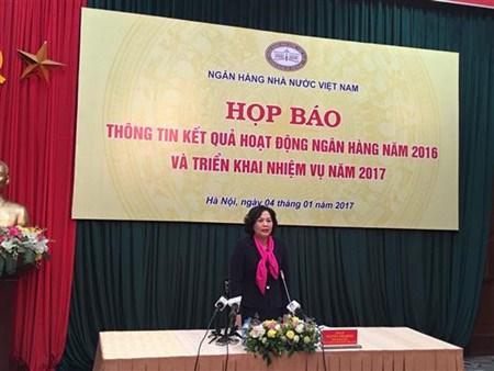 2016年越南银行部门确保有效安全运营 hinh anh 1