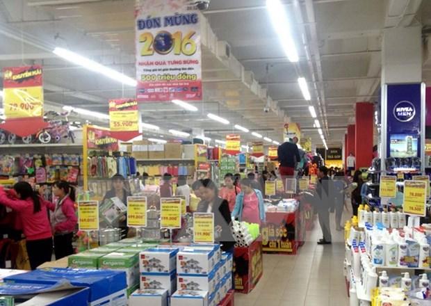 芹苴市力争社会消费品零售超过100万亿越盾 hinh anh 1