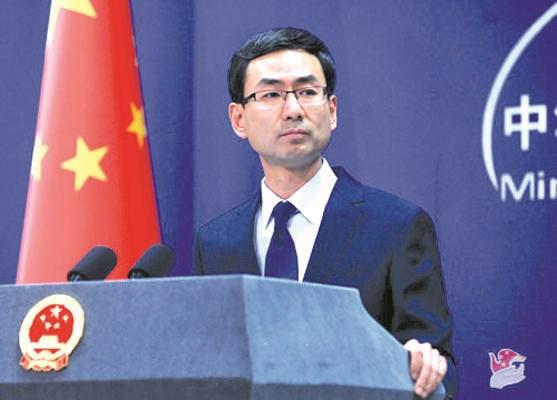 中国外交部发言人耿爽:中国将东盟作为周边外交的优先方向 hinh anh 1