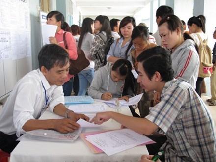 胡志明市:2017年第一季度就业机会大幅增加 hinh anh 1