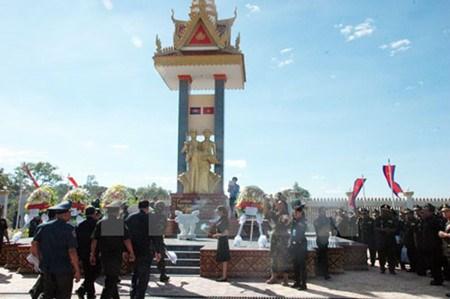 胡志明市举行纪念越南西南边界保卫战争胜利38周年见面会 hinh anh 1
