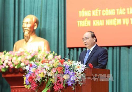 阮春福总理:财政部门应在建设服务型政府和财政机关起到带头作用 hinh anh 2