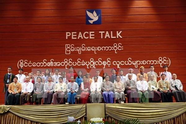 缅甸全国政治对话正式启动 hinh anh 1