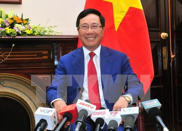 2016年越南外交活动成果丰硕 hinh anh 1