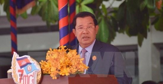 柬媒:在越南的支持和帮助下1·7是柬埔寨人民历史性的胜利 hinh anh 1