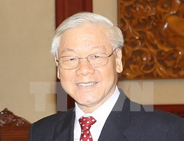 越共中央总书记阮富仲即将对中华人民共和国进行正式访问 hinh anh 1