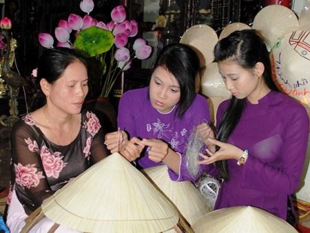 2017年顺化传统手工艺节将于4月底举行 hinh anh 1