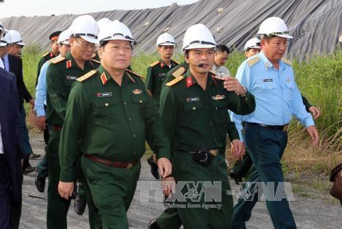 确保岘港机场橙剂污染清理项目按进度开展 hinh anh 1