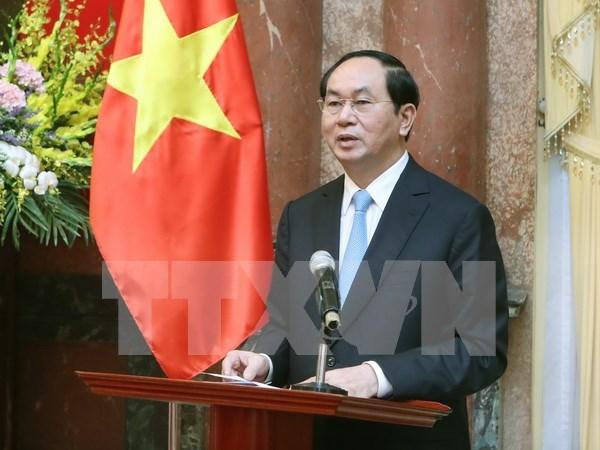 陈大光主席:继续推进民有民享民治的社会主义法制国家建设 hinh anh 1