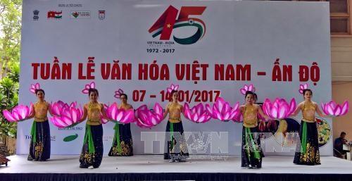 越南—印度建交45周年纪念典礼在胡志明市举行 hinh anh 1